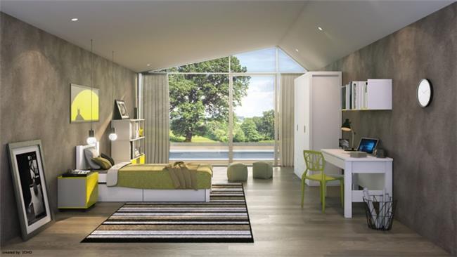 חדר ילדים ונוער דגם נטע - רהיטי דורון