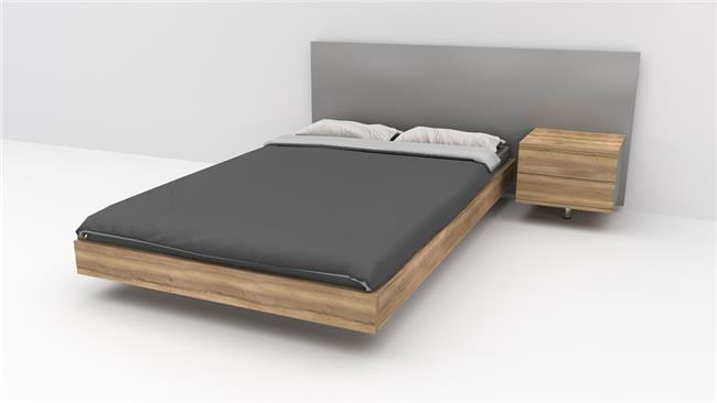 מיטה זוגית יאנג מרחפת קומפלט  - רהיטי דורון
