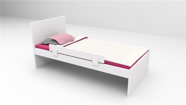 מיטת נוער דגם דור עם ראש גבוה - רהיטי דורון