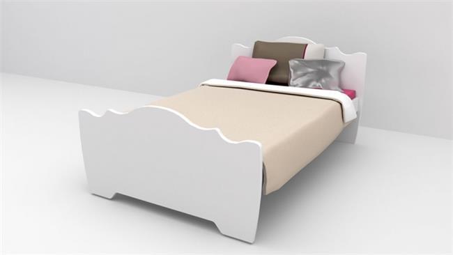 מיטת נוער דגם פרינסס כתר - רהיטי דורון