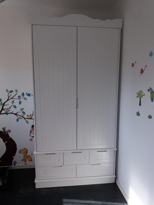 ארון בגדים 2 דלתות - רהיטי אינטגרל