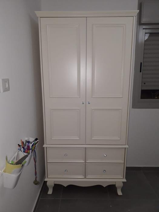 ארון 2 דלתות - דגם לואי - רהיטי אינטגרל