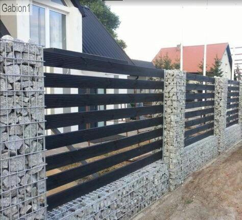 גדר מעוצבת - עולם הגידור - תכנון ויצור גדרות