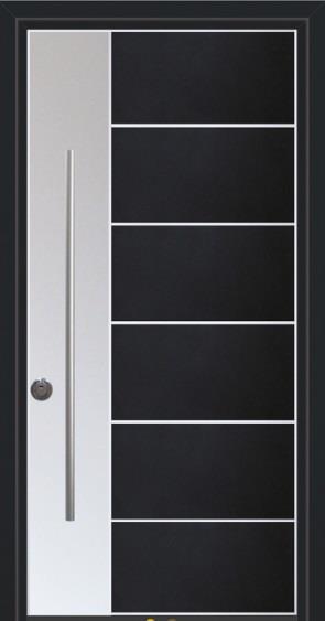 דלת כניסה דגם היי טק - סיטי דורס - city doors