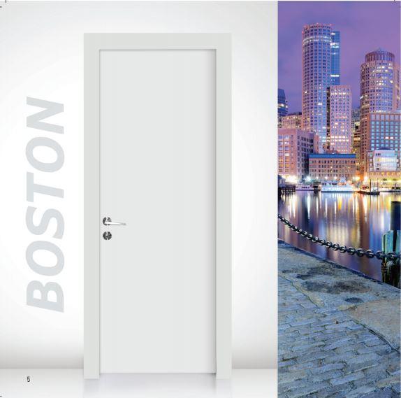 דלת פנים דגם בוסטון - סיטי דורס - city doors