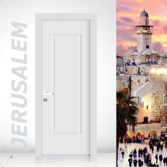 דלת פנים דגם ירושלים - סיטי דורס - city doors