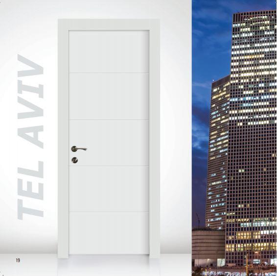 דלת פנים דגם תל אביב - סיטי דורס - city doors