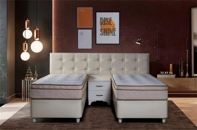 חדר שינה מודרני עם הפרדה - רפאל דיזיין