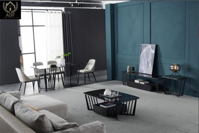 שולחן סלון מלבני E9 - רהיטי עד