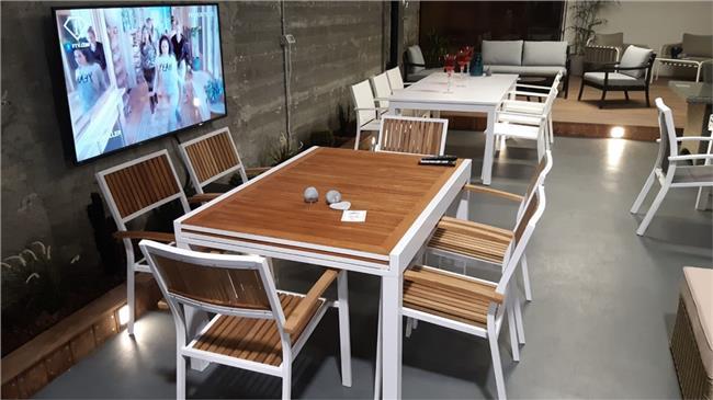 שולחן אלומיניום Village - לה גן