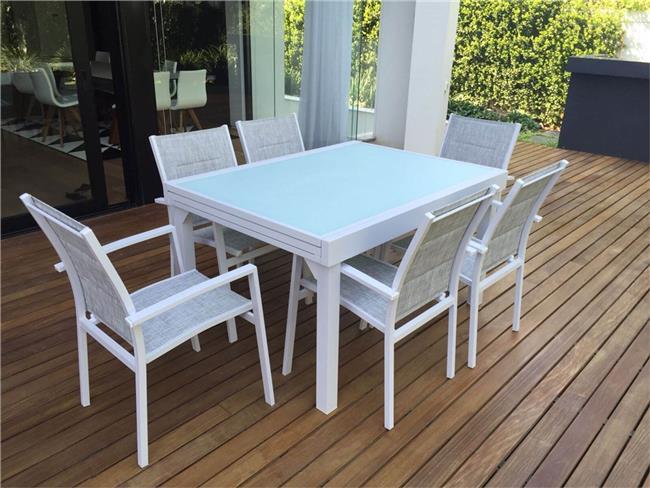 שולחן נפתח מאלומיניום - לה גן