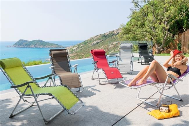 כיסא מתקפל מפנק Verona - לה גן