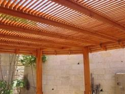 פרגולה - עיצוב העץ