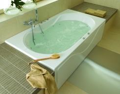 אמבטיה מאובזרת דגם אלרה - אל גל תעשיות אקריליות (אלגל)