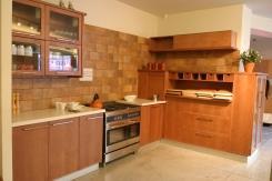 מטבח מעץ מייפל - נובו מטבחים