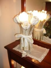 ארוס - מנורת שולחן מקרמיקה בשילוב מורנו - דיזיין G.D גלרי דענתיק