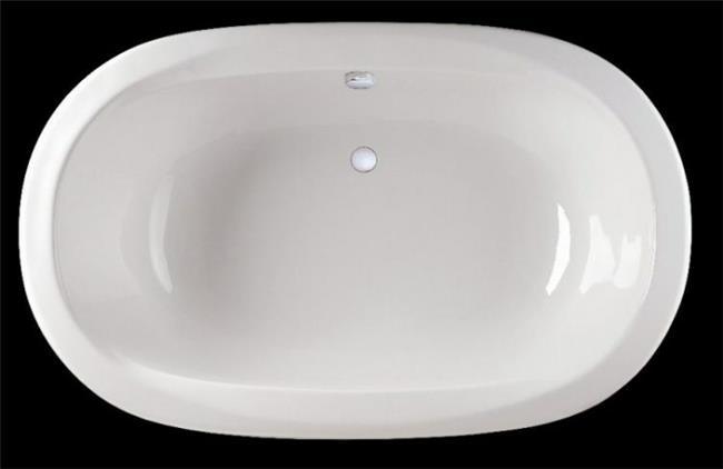 אמבטיה אליפטית - סופר קרמיק