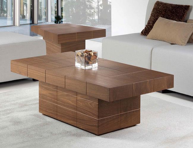 שולחן סלון עץ - DUPEN (דופן)