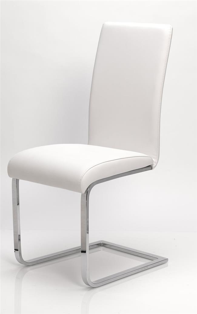 כסא בדמוי עור חלק - DUPEN (דופן)
