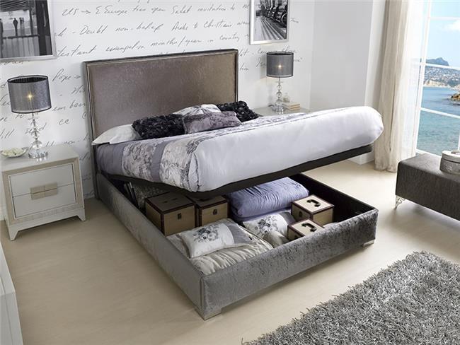 מיטה אגטה עם ארגז - DUPEN (דופן)
