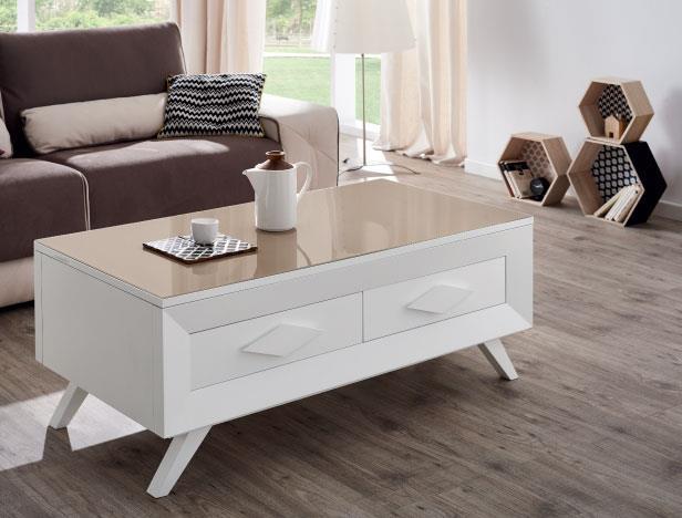 שולחן סלון מלבני מעוצב - DUPEN (דופן)