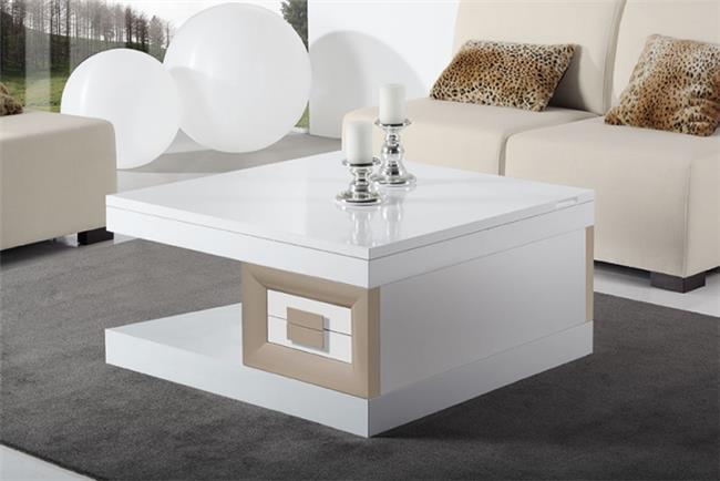 שולחן סלון מרובע - DUPEN (דופן)
