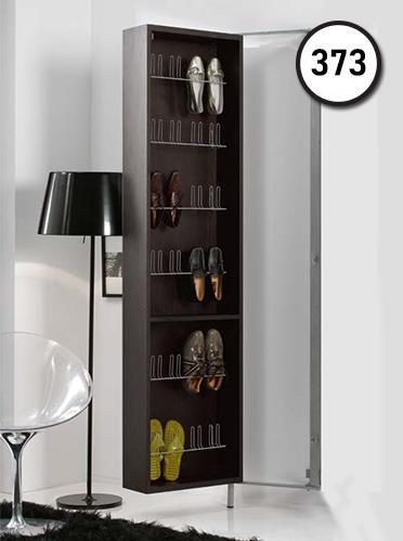 ארון נעליים עם מראה קריסטלית - DUPEN (דופן)