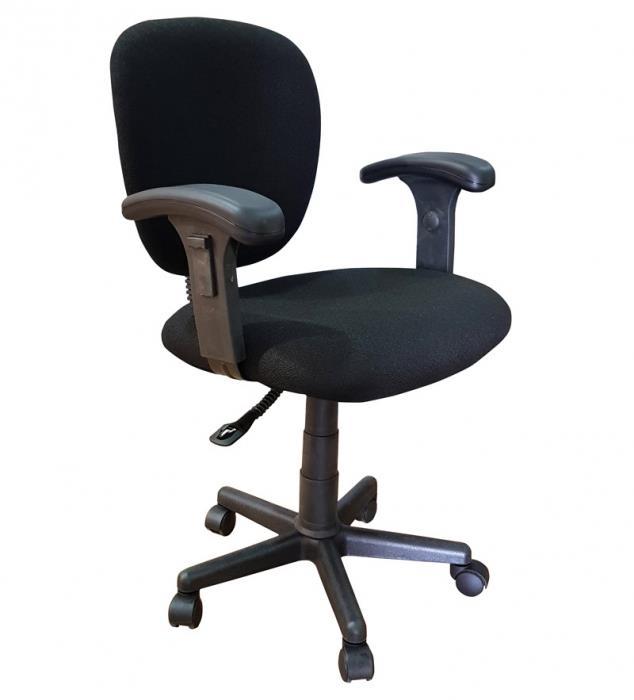 כסא מזכירה שחור - DUPEN (דופן)
