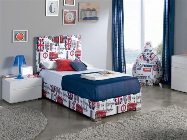 מיטת יחיד / נוער LONDON - DUPEN (דופן)
