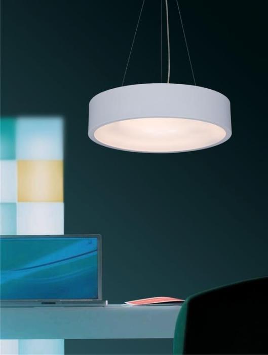 מנורת תלייה לבנה - ברק תאורה