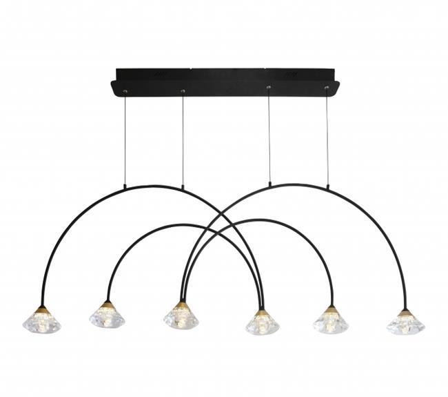 מנורת תליה דגם קשתות - ברק תאורה