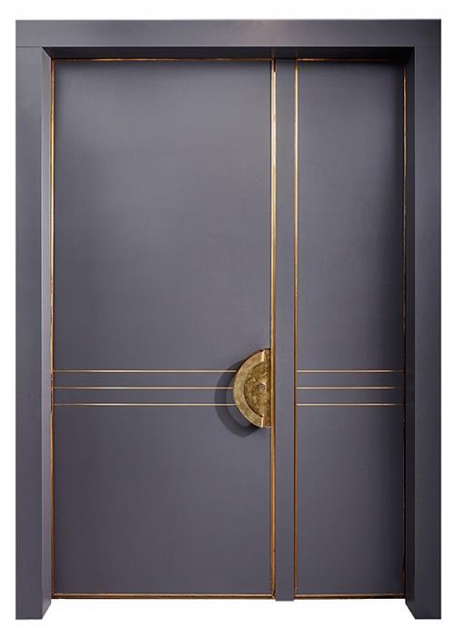 דלתות כניסה ארט-דקו כנף וחצי - רשפים