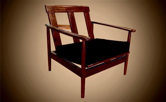 כורסא בסגנון רטרו - Treemium - חלומות בעץ מלא