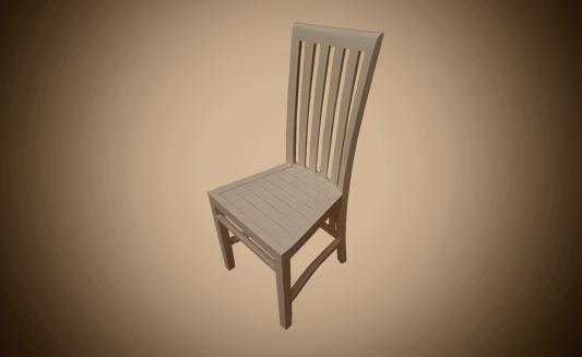 כיסא אוכל מעץ - Treemium - חלומות בעץ מלא
