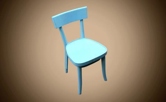 כיסא תכלת - Treemium - חלומות בעץ מלא