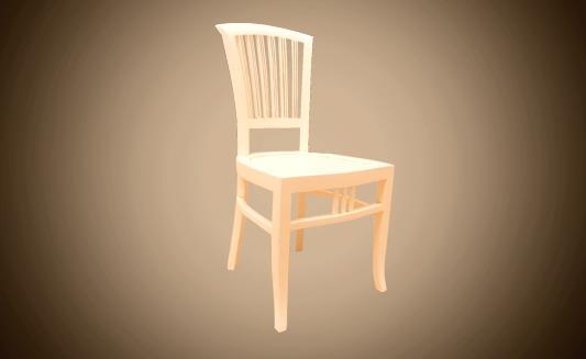 כיסא אוכל מעץ מלא - Treemium - חלומות בעץ מלא