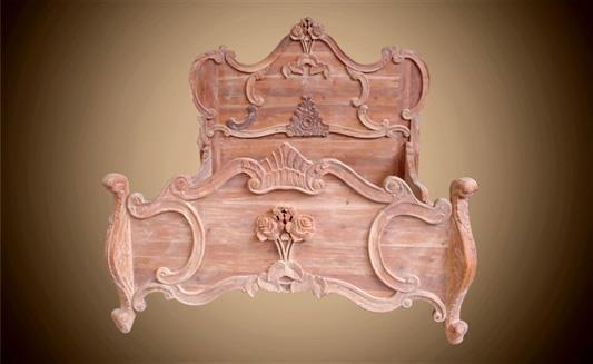 מיטה בסגנון קלאסי - Treemium - חלומות בעץ מלא