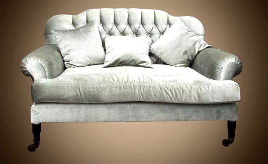 ספה זוגית לבנה - Treemium - חלומות בעץ מלא