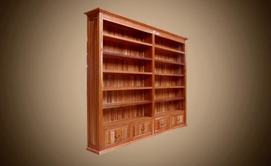 ספרייה לחדר עבודה - Treemium - חלומות בעץ מלא