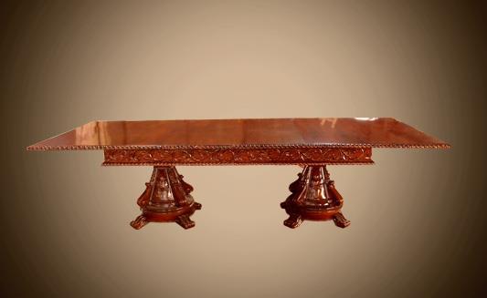 שולחן מלבני מעץ מלא - Treemium - חלומות בעץ מלא