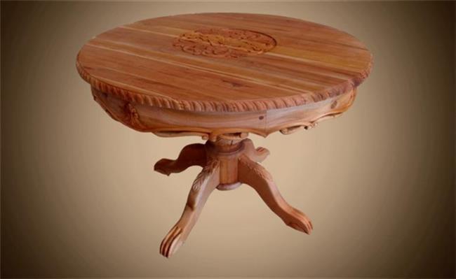 שולחן עגול בעיצוב ייחודי - Treemium - חלומות בעץ מלא