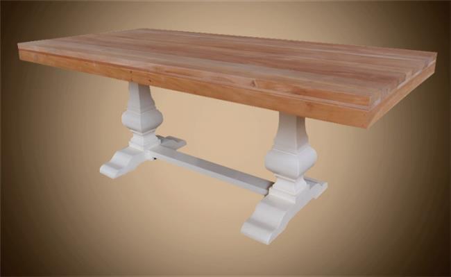 שולחן מלבני עץ מלא - Treemium - חלומות בעץ מלא