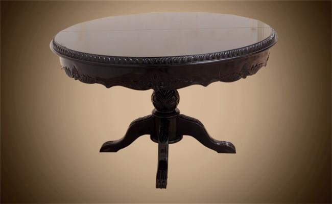 שולחן עץ מלא עגול - Treemium - חלומות בעץ מלא