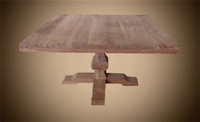 שולחן מרובע - Treemium - חלומות בעץ מלא