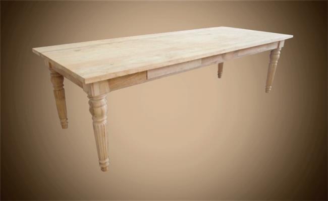 שולחן מאורך מעץ מלא - Treemium - חלומות בעץ מלא