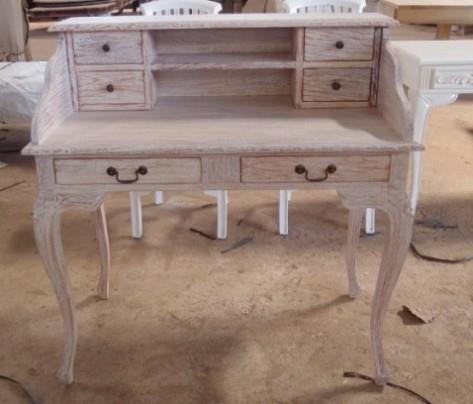 שולחן כתיבה 2 קומות - Treemium - חלומות בעץ מלא