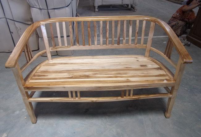 ספסל עץ מלא טבעי - Treemium - חלומות בעץ מלא