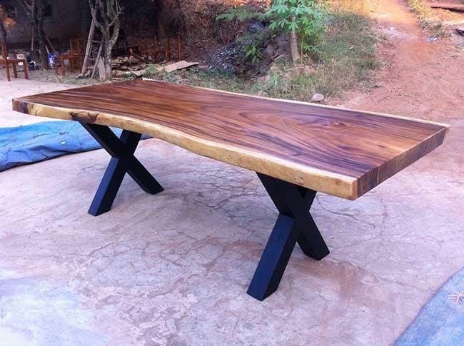 שולחן מעץ - Treemium - חלומות בעץ מלא