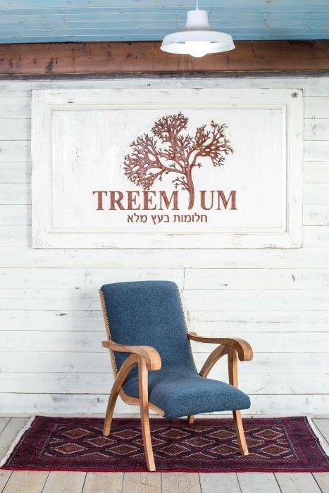 כורסא אופנתית - Treemium - חלומות בעץ מלא