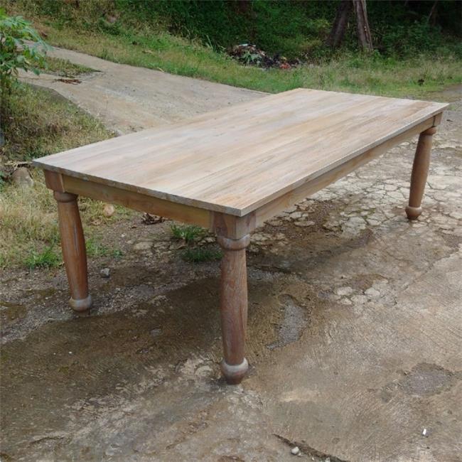האחרון שולחן אוכל עץ מלא מבית Treemium - חלומות בעץ מלא   הדירה - פורטל FH-89
